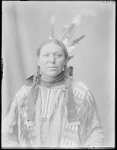 view Dakota man, Thomas Crow. U. S. Indian School, St Louis, Missouri 1904 digital asset number 1