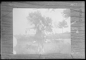 view Mounted warrior: Sac and Fox Indian, Iowa before 1912 digital asset number 1