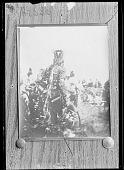 view Rear view of Blackfoot chief. Sun Dance. 1899 digital asset number 1