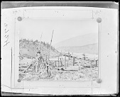 view River scene, Salish Indian, British Columbia ca 1875 digital asset number 1