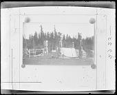 view Burial ground, Salish Indians, Comox, British Columbia digital asset number 1
