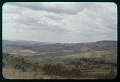 view Dry season-burning the hills, circa 1956 digital asset number 1