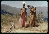 view Ladies chatting, road to Usumbura, circa 1957 digital asset number 1