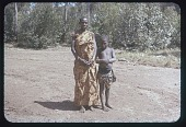 view Gahitira and one of her daughters, circa 1956 digital asset number 1
