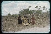 view [Muhorana and] Ladies waiting for Gov Gen Harroy, circa 1956 digital asset number 1