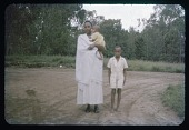 view Wife, Son, and Daughter of Harimenshi, circa 1957 digital asset number 1