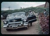 view Mwambutsa and his Cadillac, circa 1957 digital asset number 1
