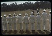 view Salute to flag, Mwami etal, circa 1956 digital asset number 1