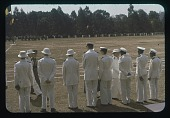 view Between ceremonies- Administrators, circa 1956 digital asset number 1