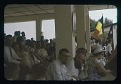 view The Audience, PFre Dupont in fez + pipe, circa 1956 digital asset number 1