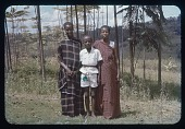 view Christiana, Goddefried and Marie-Immaculata, circa 1956 digital asset number 1