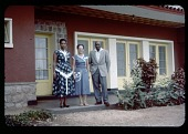 view King and Queen of Urundi [Mwambutsa and Wife] with EMA, circa 1957 digital asset number 1