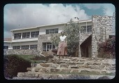 view EMA in front of IRSAC Lab, circa 1956 digital asset number 1