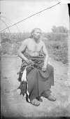 view Watangaa [Black Coyote] Native Dress and Holding Dead Bird 1891 digital asset number 1