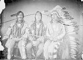 view Group Portrait of White Antelope, Alights or Man On A Cloud, And Little Chief 1868 digital asset number 1