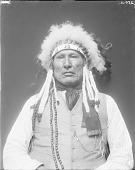 view Portrait (Front) of Kom-Pri-Uster or Kâhamâxéveóhtáhe (Wooden Leg) MAR 1913 digital asset number 1