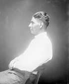 view Portrait (Profile) of Joe Iron-Pipe JUN 1923 digital asset number 1