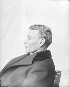 view Portrait (Profile) of Nashota (Twin), Called Reverend Charles Wright, Interpreter, in Clerical Garb FEB 1899 digital asset number 1