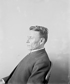 view Portrait (Profile) of Nashota (Twin), Called Reverend Charles Wright, Interpreter, in Clerical Garb 1896 digital asset number 1