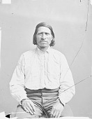view Portrait (Front) of Mis-To-Ya-Be (Little Bull) 1874 digital asset number 1