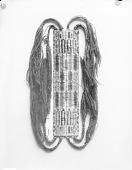view [Beaded garters showing art figures] digital asset number 1
