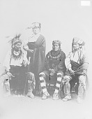 view Group Portrait of Four Chiefs O2 JAN 1866 digital asset number 1