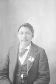 view Portrait (Front) of Man 1898 digital asset number 1