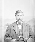 view Portrait (Front) of James Charlie (Mixed Blood) n.d digital asset number 1