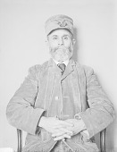 view Portrait (Front) of Cal-Ah-Chung-Ah (Black Thunder), Called W. G. Labardie (Mixed Blood) DEC 1906 digital asset number 1