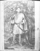 view Painting by John Verelst, 1710, of Etow-Oh-Koam (King Of The River Nation) Holding Club and Sword n.d digital asset number 1