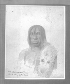view Sketch by Paul Kane, 1848, of Kee-A-Kee-Ka-Sa-Coo-Way (The Man Who Gives The War Whoop) in Native Dress n.d digital asset number 1