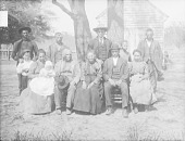 view [Chickahominy family group] 1900 digital asset number 1