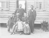 view Woman, Three Men, Two Boys, and Girl 1900 digital asset number 1