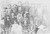 view Group of Twenty School Children 1900 digital asset number 1
