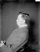 view Portrait (Profile) of David Hill 1906 digital asset number 1