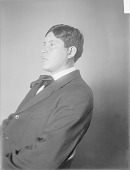 view Portrait (Profile) of Shono-Ses (His Honor Is Great), Called A. A. Elm 1908 digital asset number 1