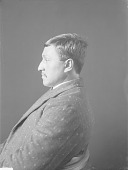 view Portrait (Front) of Archie B. Whitlock (Mixed Blood) 1906 digital asset number 1