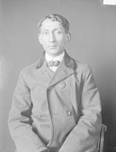 view Portrait (Front) of Joshua Scanandore (Mixed Blood) 1906 digital asset number 1