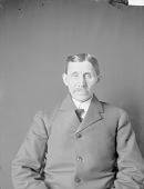 view Portrait (Front) of Joseph M. Smith (Mixed Blood) 1906 digital asset number 1