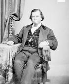 view Portrait (Front) of Samuel Folsom or Folson (Mixed Blood) 1868 digital asset number 1