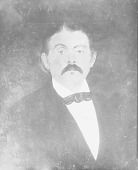 view Portrait (Front) of Isaac L. Garvin (Mixed Blood) n.d digital asset number 1