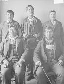 view Group Portrait of Five Men 02 APR 1901 digital asset number 1