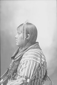 view Portrait (Profile) of Coo-Yaw-Che, Called William Stevens, in Partial Native Dress with Ornaments 1898 digital asset number 1