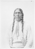 view Portrait (Front) of Luwak or John Rowalk in Partial Native Dress with Ornaments 1919 digital asset number 1