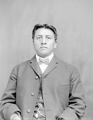 view Portrait (Front) of Ray-Sah-Ki-Pi-Ru (Young Chief), Called Stacey Matlack 21 JAN 1905 digital asset number 1