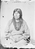 view Portrait (Profile) of Woman in Partial Native Dress with Ornaments 1868 digital asset number 1