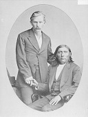view [Portrait of Good Buffalo (seated) and McCusker] digital asset number 1