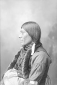view Portrait (Profile) of Man in Partial Native Dress Omaha Exposition, 1898 1898 digital asset number 1