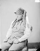 view Portrait (Profile) of E-Gus-Pah (Bull Head) in Partial Native Dress 1874 digital asset number 1