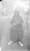 view Chief in Partial Native Dress and Holding Pipe 1892 digital asset number 1